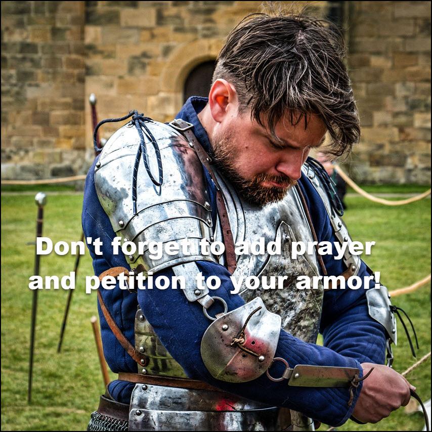 Deut 20 add prayer to your armor2a