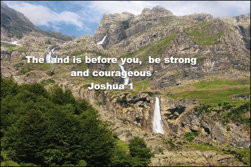 Joshua 1 be strong2a