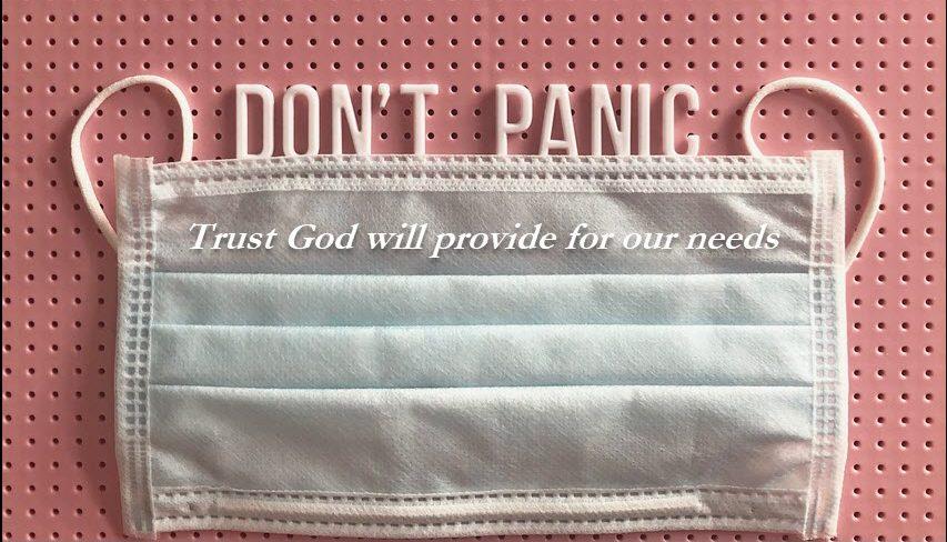 Trust God not man