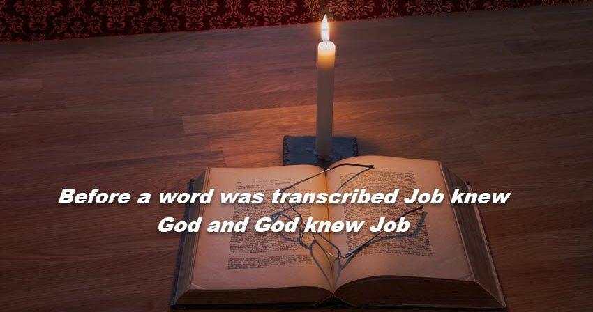 God knew Job